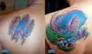 cover up tattoos_ny dragon coverup
