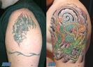 cover up tattoos_panther japanese dragon coverup