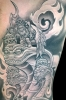 custom tattoos_angels-seraphim-chayot-cherubim detailed view
