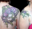 Custom Tattoos_Orchids and Thorns Tattoo